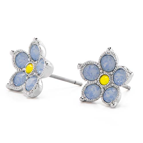 Forget me Nots Page Earrings V1 copy